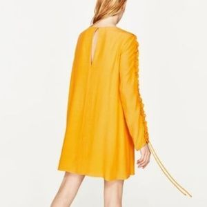 Zara Trafaluc Dandelion Yellow Dress
